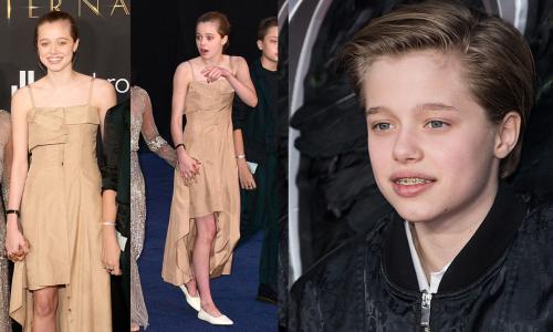 E alla fine Shiloh Jolie-Pitt (ex John) arriva vestita da ragazza